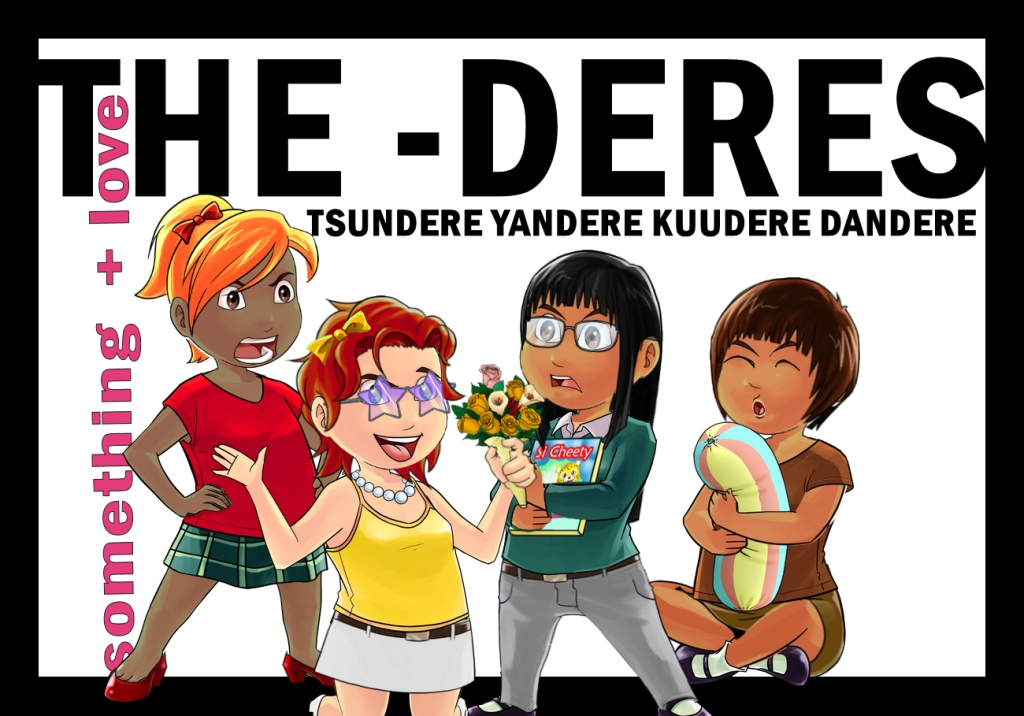archetypes header kuudere and the deres