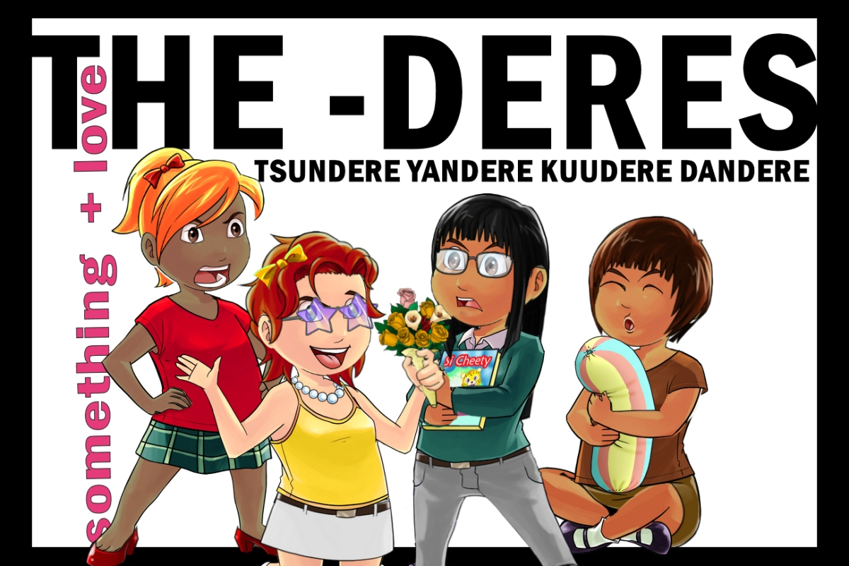 The Kuudere Tsundere Dandere And Yandere Are Archetypes From Japanese Anime They Relevant To Female Young Characters As Love Interests In Particular