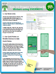Top 10 Evernote Hacks for Writers